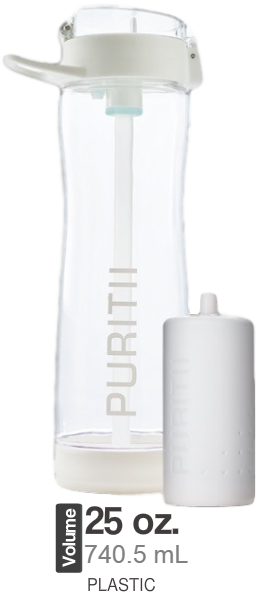 New Plastic Puritii Bottle